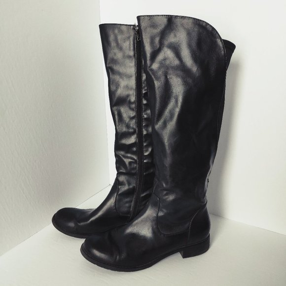 TAXI Black Riding Boots